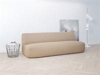 Мебельный чехол на трёхместный диван без подлокотников